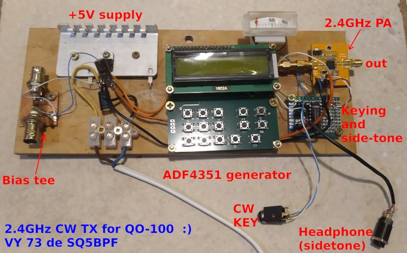 QO-100 CW TX