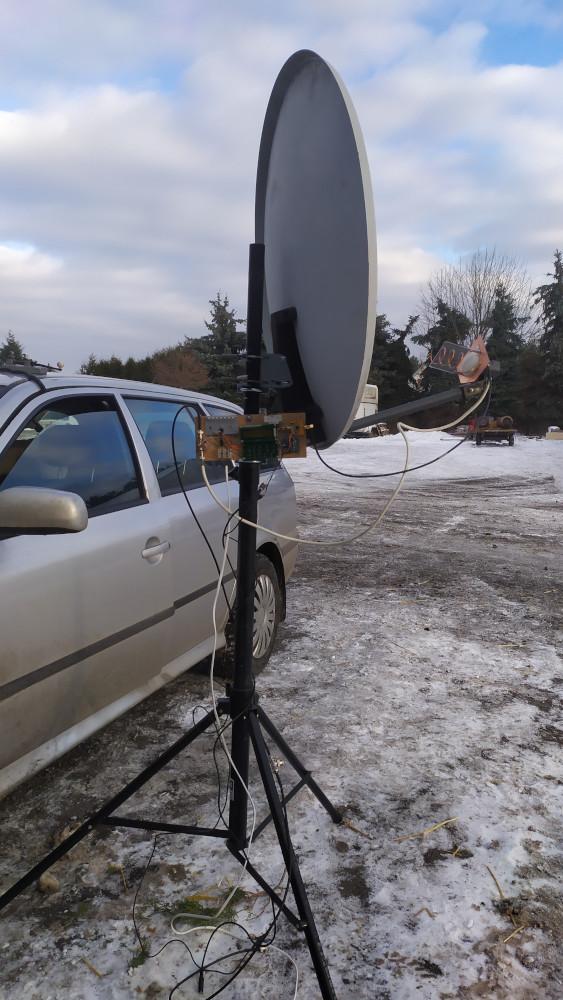 QO-100 mobile setup